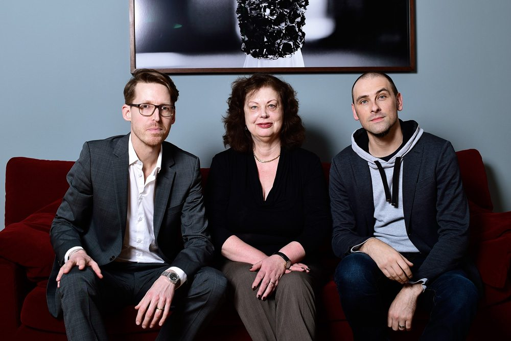 VdA-Vorstand seit Februar 2016: (v.l.n.r.): Malte Lamprecht, Sibylle Flöter (Vorsitz) und Patric Adam (Foto: © VdA/Urban Ruths)